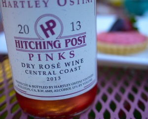 As you can see, I couldn't choose just one pink wine. Here are my three dead-heat favorites: Hitching Post, Dragonette Cellars and Andrew Murray Vineyards.